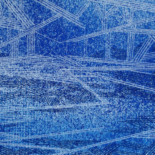 Resonating Line in Blue Series #14