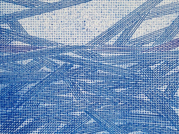 Resonating Line in Blue Series #16