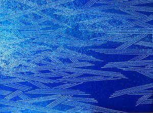 Resonating Line in Blue Series #2