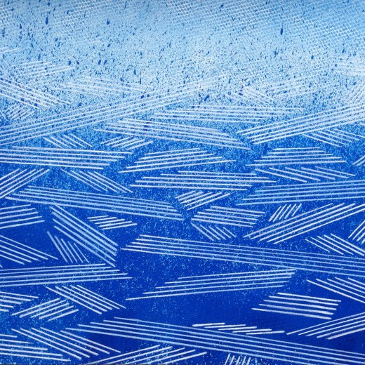 Resonating Line in Blue Series #7